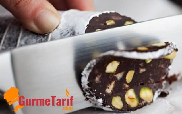 çikolata salamı nasıl yapılır
