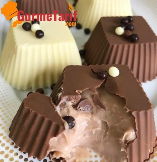 Evde Dolgu Çikolata Tarifi