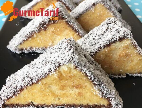 Üçgen kek tarifi