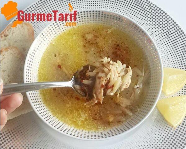 Arpa Şehriyeli Tavuk Çorbası Şifa Kaynağı