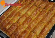 baklavalık yufkalı Kıymalı börek tarifi
