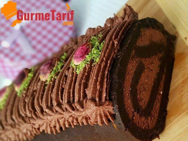 Kolay Çikolata Kremalı Pasta