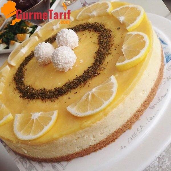Limonlu Cheesecake Tarifi – Nasıl Yapılır