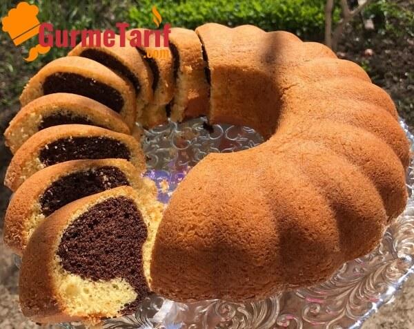 sodalı çift renkli kek tarifi