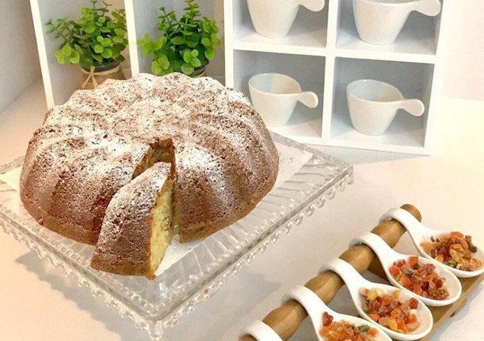 Kuru meyveli kek tarifi
