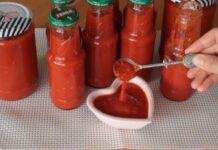 domatesli biberli kışlık sos tarifi