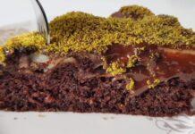 Muhallebili sürpriz kek tarifi