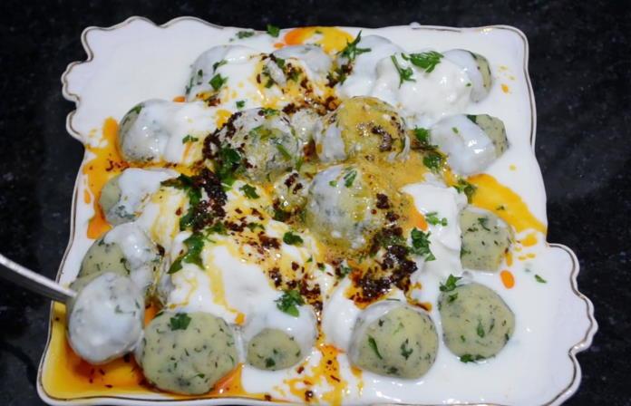Nefis Yoğurtlu Patates Topları Tarifi