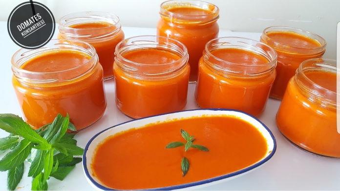 Kışlık Domates Sosunu Şimdi Hazırla Kışın Yemeklerinde Kullan