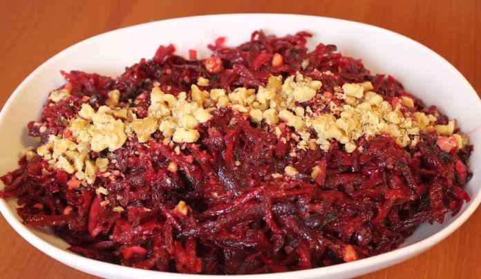 Cevizli Pancar Salatası Tarifi Gurme Tarif