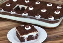 Muhallebi Dolgulu Kek tarifi nasıl yapılır?