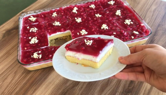 Narlı Borcam Pastası tarifi nasıl yapılır