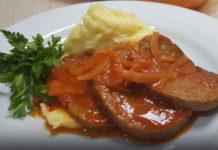 Rosto Köfte tarifi ve patates püresi