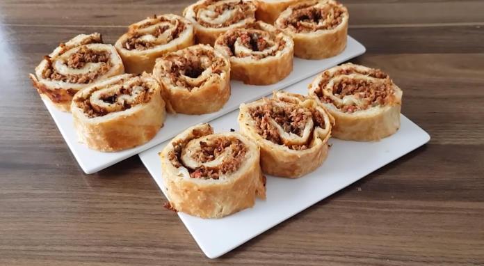 Rulo börek tarifi kıymalı börek nasıl yapılır?