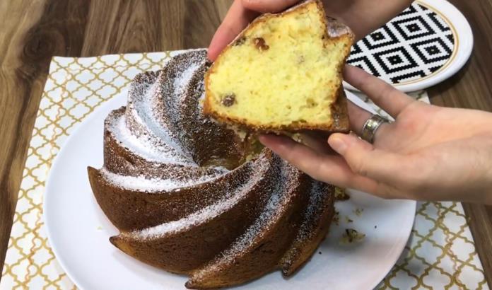 Kuru üzümlü kek tarifi