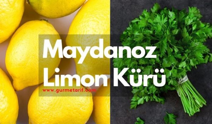 Maydanoz limon kürü nasıl hazırlanır? Kilo verdirirmi? Kullananlar, detoks, yağ yakmak
