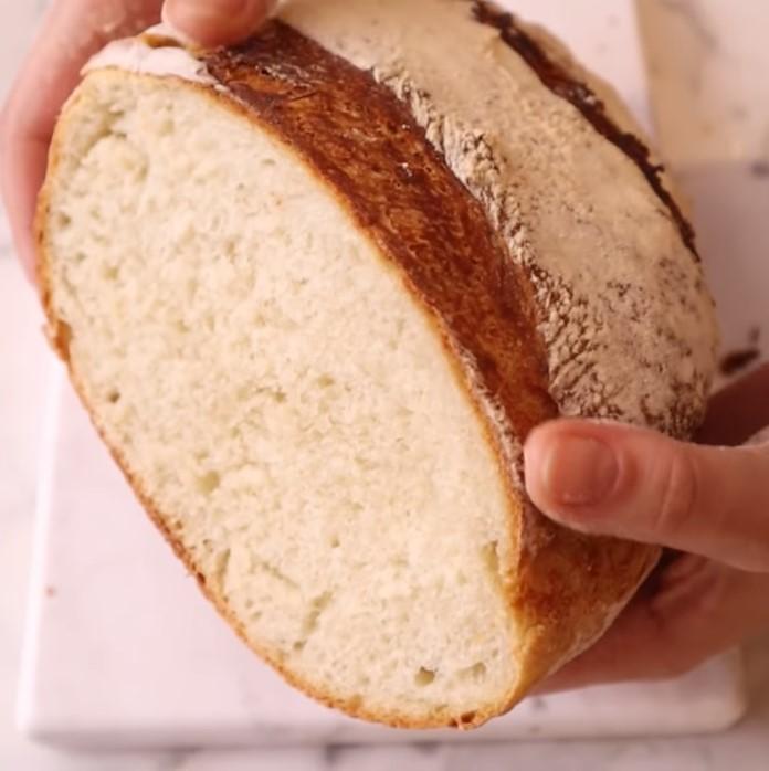 Trabzon ekmeği tarifi iç doku