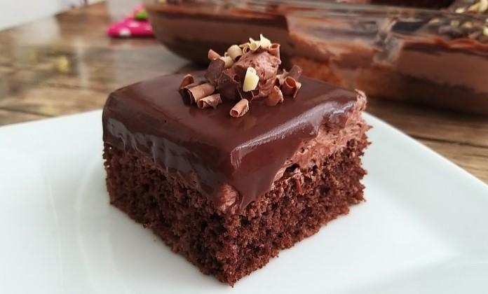 Çikolatalı borcam pastası tarifi
