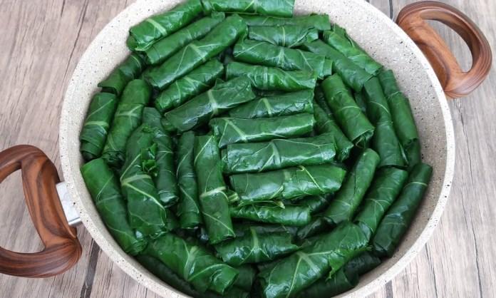 Kara lahana sarması tarifi