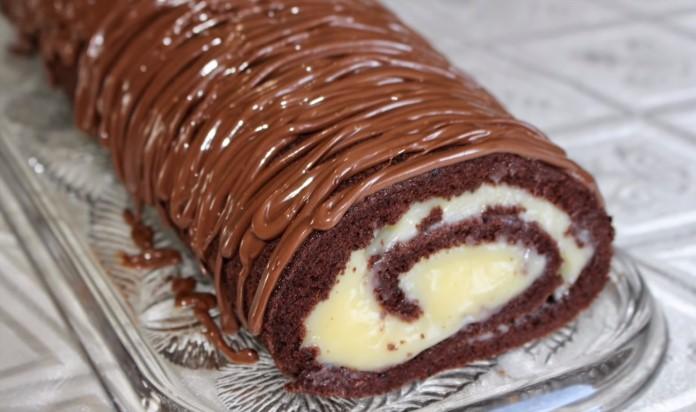 Çatlamayan, dağılmayan rulo pasta tarifi, nasıl yapılır.