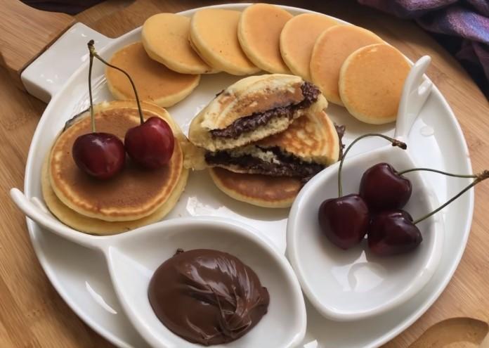 Çikolatalı sünger pankek tarifi