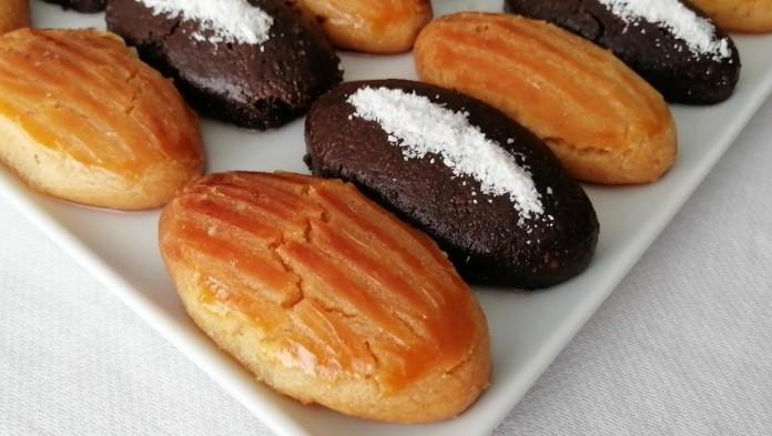 kakaolu ve sade şekerpare tarifi