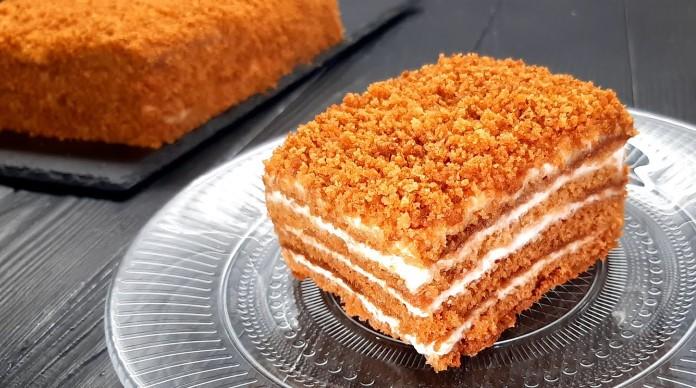 ballı medovik pastası tarifi