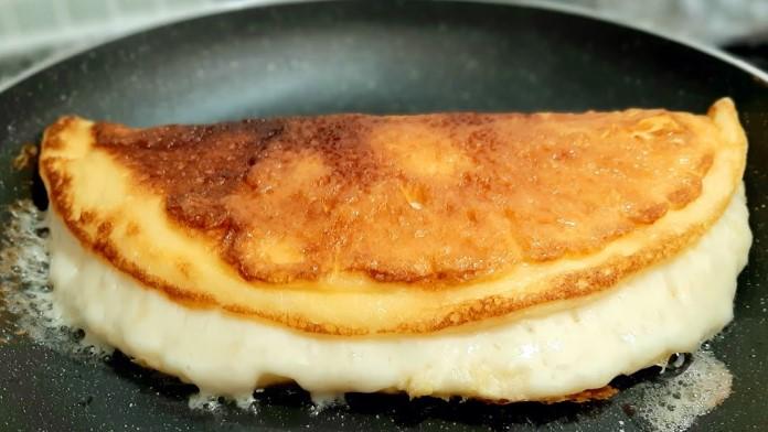 Kahvaltılık kaşarlı yumurta tarifi