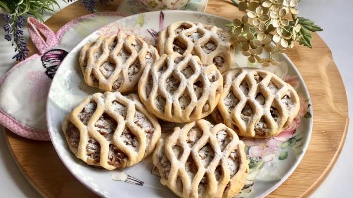 elmalı kafes kurabiye, elmalı mini tart tarifi